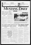 Mustang Daily, November 26, 1996