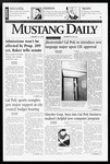 Mustang Daily, January 16, 1997