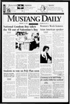 Mustang Daily, February 13, 1997
