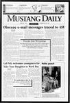 Mustang Daily, April 28, 1997