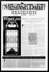Mustang Daily, May 20, 1997
