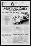 Mustang Daily, September 25, 1997