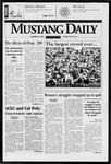 Mustang Daily, October 27, 1997