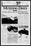 Mustang Daily, October 28, 1997