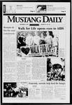 Mustang Daily, November 3, 1997