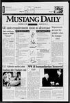 Mustang Daily, November 10, 1997