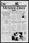 Mustang Daily, November 18, 1997