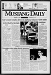 Mustang Daily, February 19, 1998