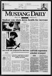 Mustang Daily, March 13, 1998