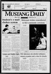 Mustang Daily, April 21, 1998
