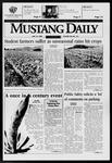 Mustang Daily, May 19, 1998
