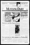 Mustang Daily, October 5, 1998