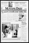 Mustang Daily, October 15, 1998