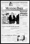Mustang Daily, November 5, 1998
