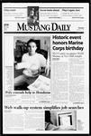 Mustang Daily, November 10, 1998
