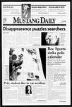 Mustang Daily, November 17, 1998