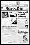 Mustang Daily, November 24, 1998