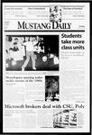 Mustang Daily, November 30, 1998