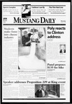 Mustang Daily, January 21, 1999