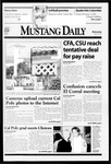 Mustang Daily, January 27, 1999