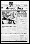 Mustang Daily, March 1, 1999