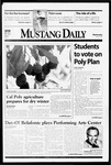 Mustang Daily, March 3, 1999