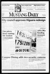 Mustang Daily, April 8, 1999