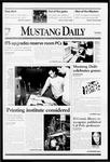 Mustang Daily, April 13, 1999