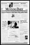 Mustang Daily, April 15, 1999