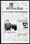 Mustang Daily, April 21, 1999