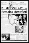 Mustang Daily, April 26, 1999