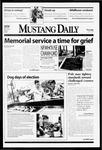 Mustang Daily, April 29, 1999