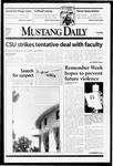 Mustang Daily, May 11, 1999