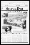 Mustang Daily, May 25, 1999