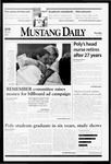 Mustang Daily, June 3, 1999