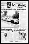 Mustang Daily, September 23, 1999