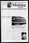 Mustang Daily, September 28, 1999
