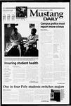 Mustang Daily, October 1, 1999