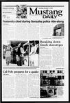 Mustang Daily, October 5, 1999