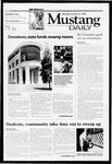Mustang Daily, October 25, 1999