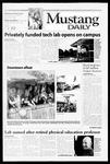 Mustang Daily, November 1, 1999