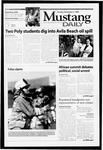 Mustang Daily, November 2, 1999