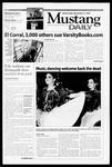 Mustang Daily, November 3, 1999