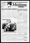 Mustang Daily, May 22, 2000