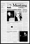 Mustang Daily, October 26, 2000