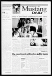 Mustang Daily, November 3, 2000