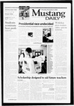 Mustang Daily, November 9, 2000