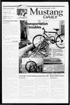 Mustang Daily, November 14, 2000