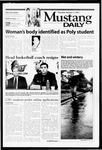 Mustang Daily, January 11, 2001