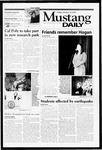 Mustang Daily, January 19, 2001